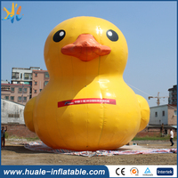 Customized gaint inflatable duck balloon for advertising