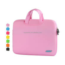 Wholesale Neoprene Universal Sleeve Zipper Case Bag Laptop Sleeve For Laptop Notebook Computer With Hidden Handle