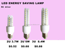 China supplier led bulb compatible with energy-saving sensor switch