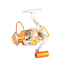 Gold Hardness nylon composite material fly fishing reels
