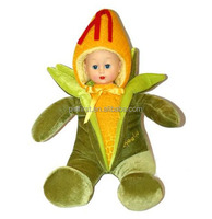 New Design Interesting Cute Fruit Plush Baby Infant Doll