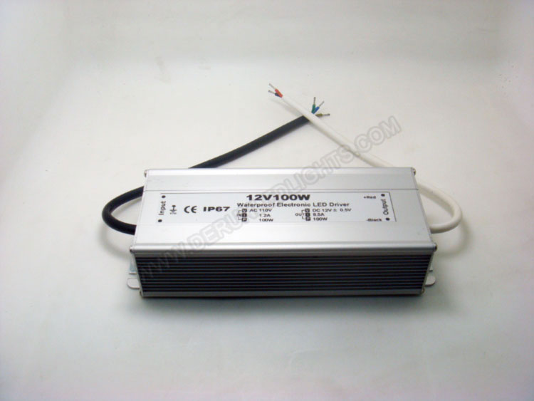 waterproof 12v 120w led power supply for 5050 rgb led strip