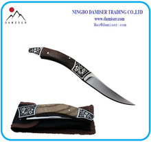 Mini folding knife ourdoor survival saber knife