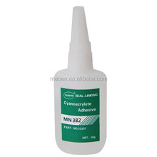 High quality super strong cyanoacrylate adhesive fast curing super glue