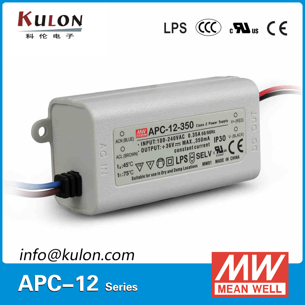 Mean well AP-C-12-350 12v 350ma led transformer led driver