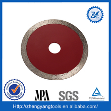 Economic choice 7 inch diamond wet saw blade for cutting marble sheet