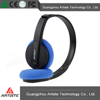 China high quality wireless bluetooth stereo headset/bluetooth heaphone