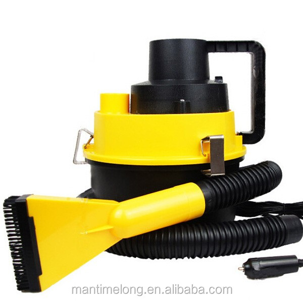 Newest 12V 90W Car vacuum Cleaner Portable Handheld Wet Dry Dual-use Dust Vacuum Cleaner