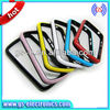 Best selling 2 in 1 TPU+PC hybird bumper case for Blackberry Q10 cellphone case