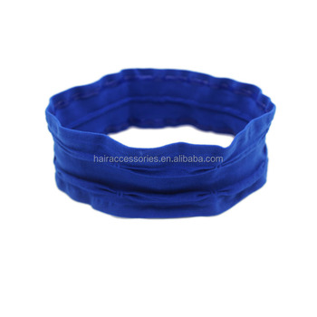 Double unisex head band sport head wear