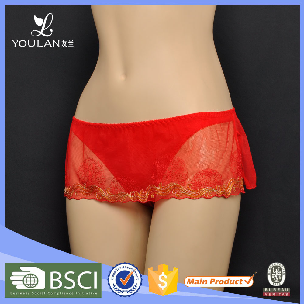 Customized Breathable Hot Lady Spandex Old Fashioned Underwear