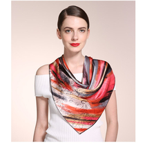 100% silk scarf stewardess, turkey head scarf
