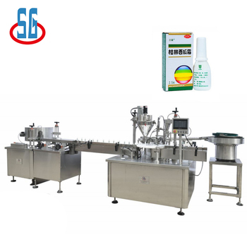 4000*2000*1750mm SGLP+SGFSJ Small Pharmaceutical Powder Packing Machine