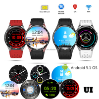 3G/Wifi/Bluetooth Android Multifunction smart mobile watch phones
