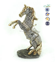 2015 home decorative horse figurines resin