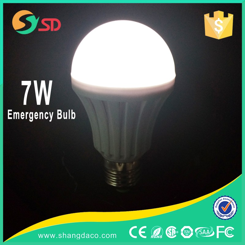 led bulb e27 9w rechargeable emergency exit lights with motion sensor