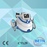 New upgraded smart cryo handles cold lipolysis vaccuum fat freeze beat cryo shape multifunctional slimming machine