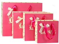 Customized Gift Shopping Paper Bag (KG-PB071)
