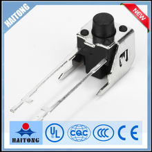 hot selling 6mm 2 long pin tact switch with stand