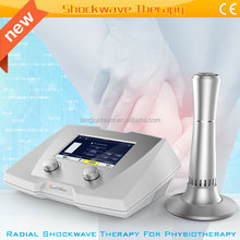 Extracorporal shock wave therapy massage equipment