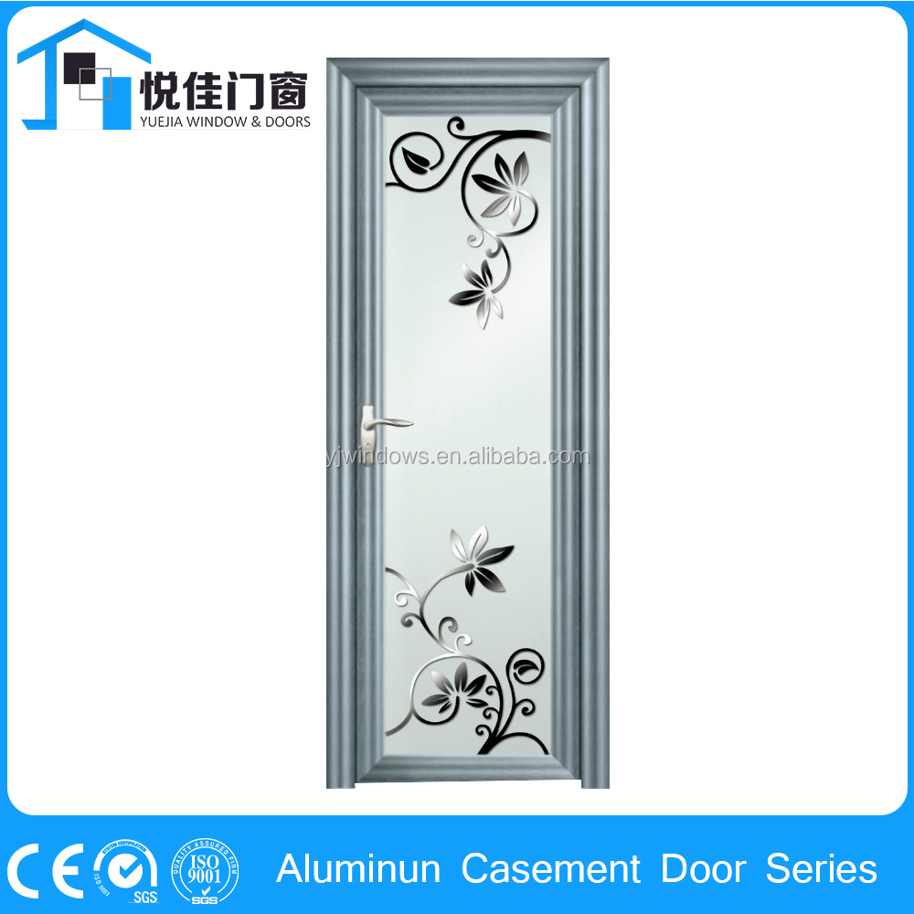 Modern shape casement entry doors left hand inswing door
