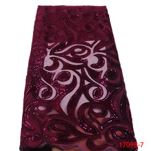 Unique design african velvet lace fabric wholesale sequin fabric velvet fabric for bridal