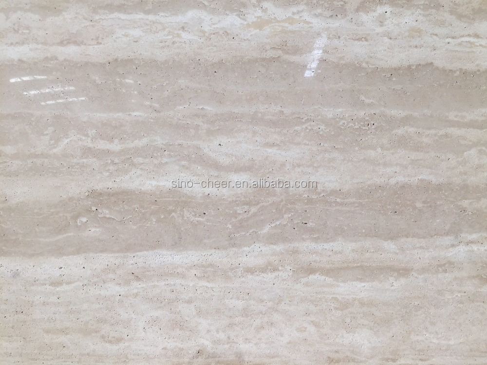 cheap Beige Travertine Slab marble stone factory
