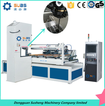 Dongguan SUBS high quality 2m processing length CNC wood cutting band saw