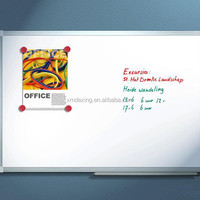 Aluminum Frame Magnetic White Board Office