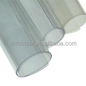 PVC transparent film sheet rigid extruded clear sheet in roll