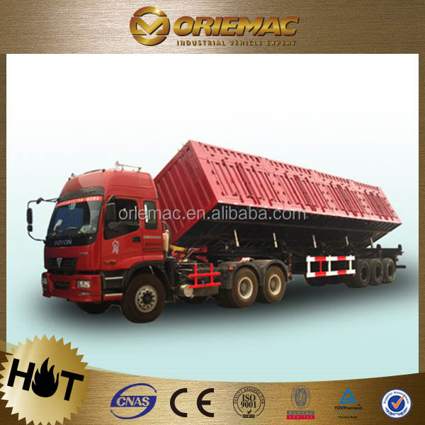 CIMC coal semi-trailer 30t trailer in dubai