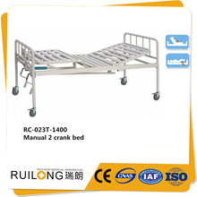 Medical bed two functions handle crank nursing home care