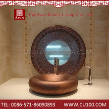 Top quality antique hot sell bathroom brass copper brass wash basin