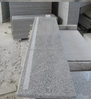 Grey granite G603 stone stairs