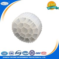 Moving bed biofilm reactor MBBR plastic bio filter media for agricultural waste