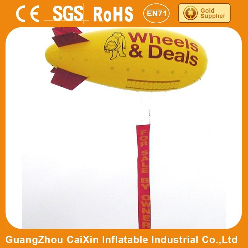 camera rc pvc blimp, big inflatable air blimp