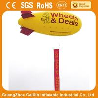 camera rc pvc blimp / big inflatable air blimp/ air ship/ helium balloon for sale