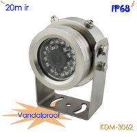 Full Vandalproof 20M IR Waterproof CCTV Camera, 316L Steel Casing