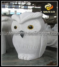 owl granite sculpture