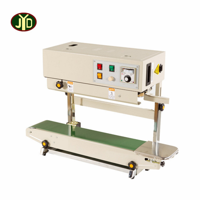 JYDAutomatic plastic PVC bag continous band sealer/continous plastic bag sealing machine RFD-1000LW