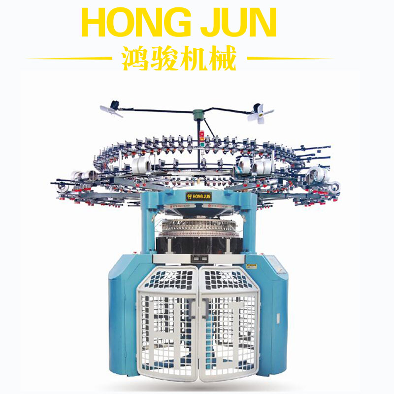Electronic Jacquard Circular Knitting Machine with LGL Mini Jacquard feeders