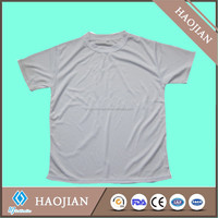 Haojian 100% poly T-shirt for sublimation