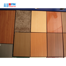Insulated aluminum wood paneling 4x8 interior aluminum composite panel