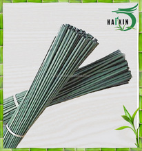 Factory wholesale dye green bamboo flower sticks