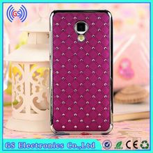 Case For Huawei Ascend G620S Bling Crystal Diamond Metal Case For Huawei Mobile Phone Cover