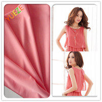 polyester knitted wholesale chiffon fabric rolls for dress