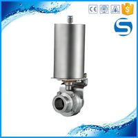 Cheap Price Grade 316 1-pc ball valve with butterfly