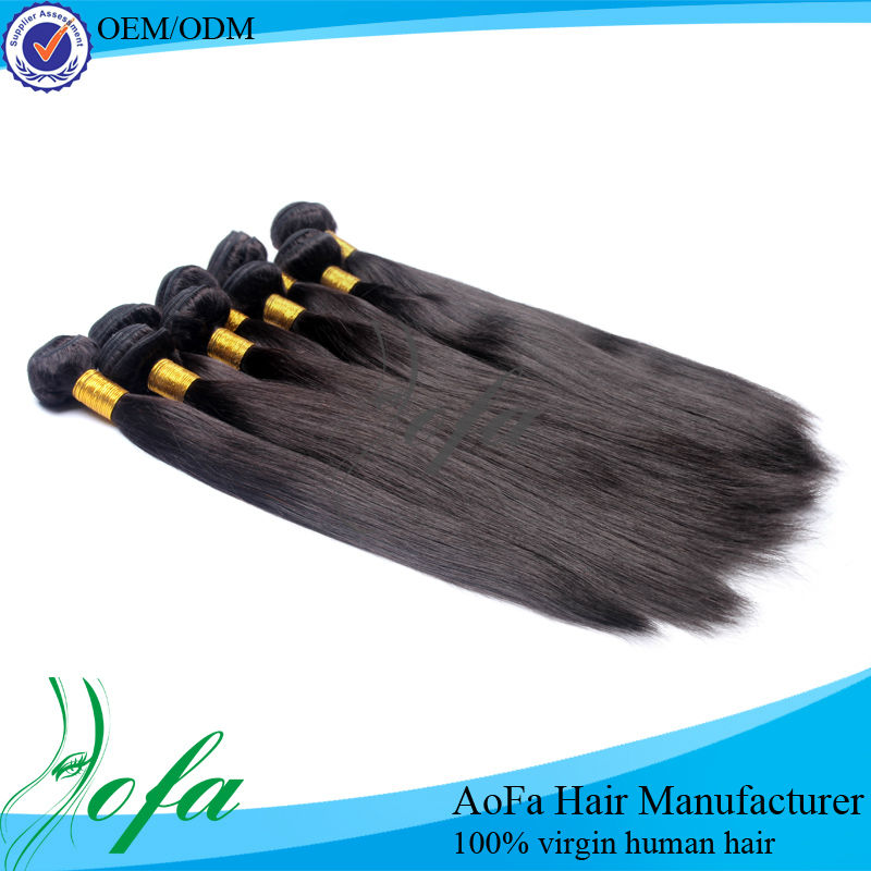 Best price human hair extension gray hair weave