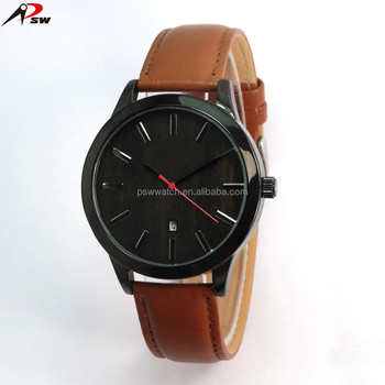 2017 elegant men's sport wrist watch fashion simple design with calender