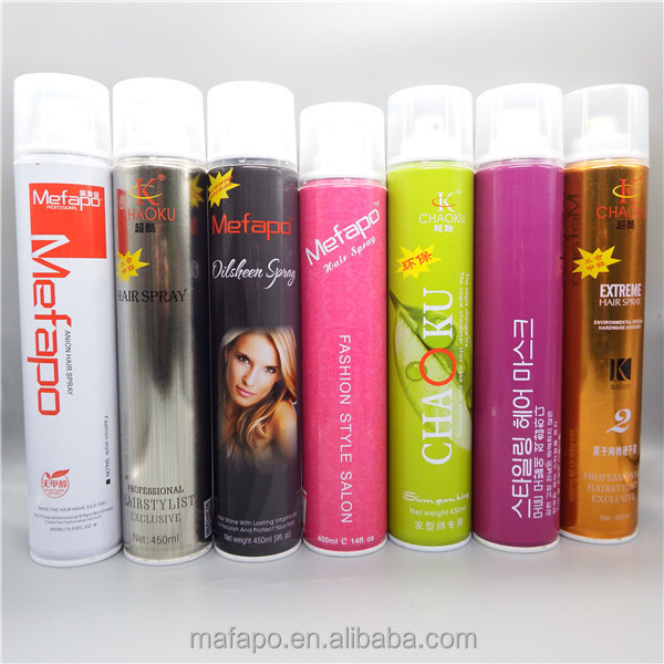 Dongguan regrow hair spray private label hair
